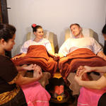 Combination Aromatherapy Hot Oil Massage with Foot Reflexology Massage at Blooming Day Spa & Thai Massage Neutral Bay